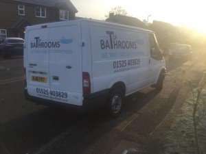 Our New TopBathrooms Van!